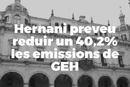 Hernani redueix emissions de GEH