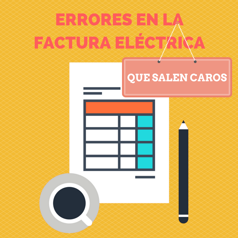 Errores en la Factura