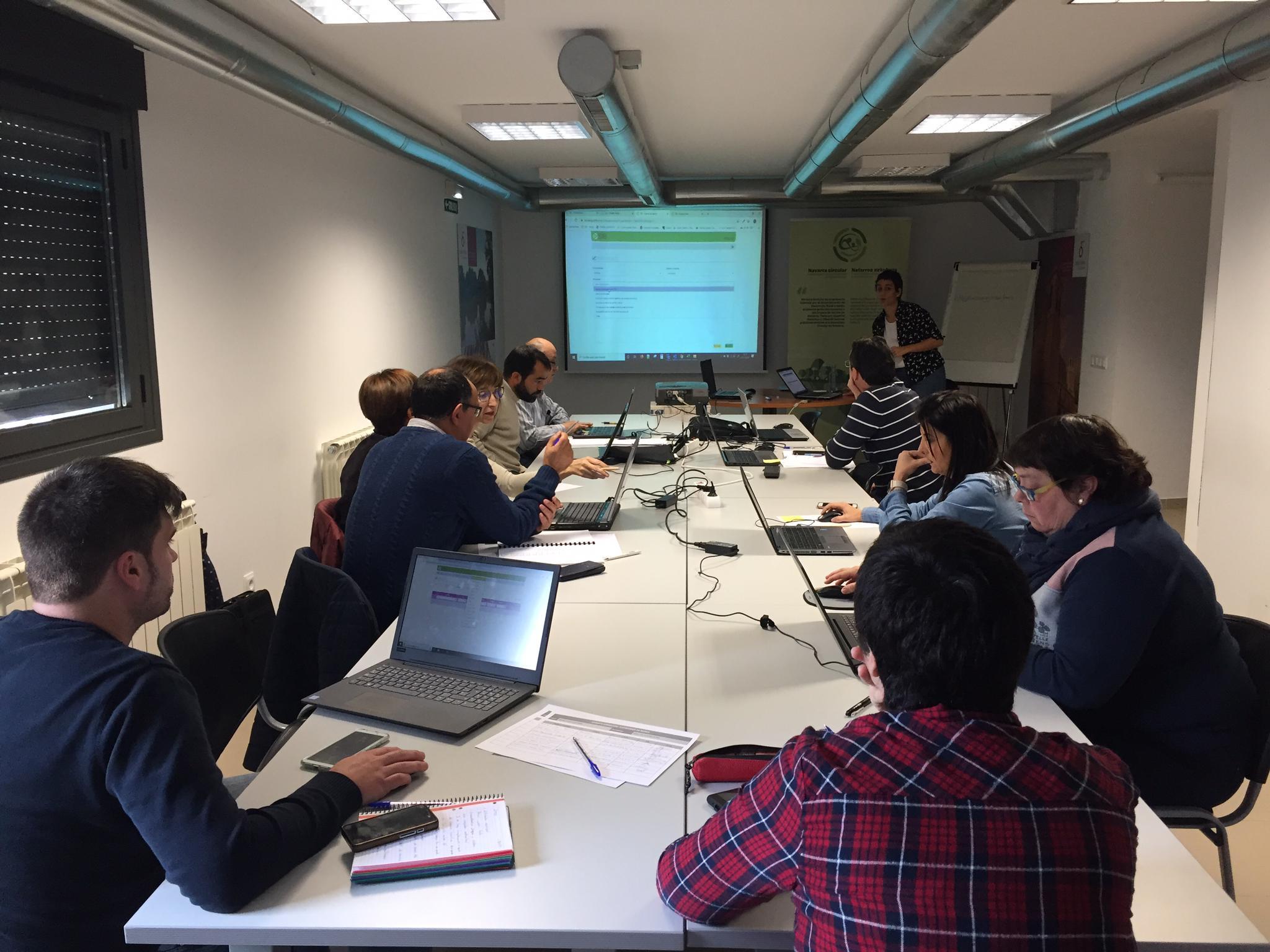 Estalvi i eficiencia energetica en Zona Media de Navarra